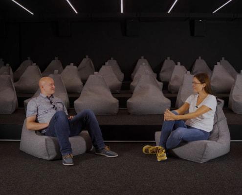 Mitarbeiter im netgo cinema